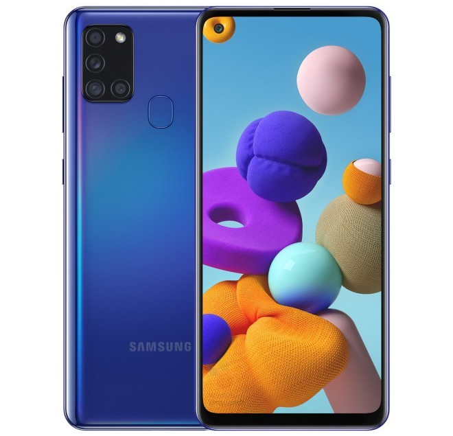 Samsung Galaxy A21s With 6 5 Inch Infinity O Display Exynos 850 Quad Rear Cameras 5000mah Battery Surfaces