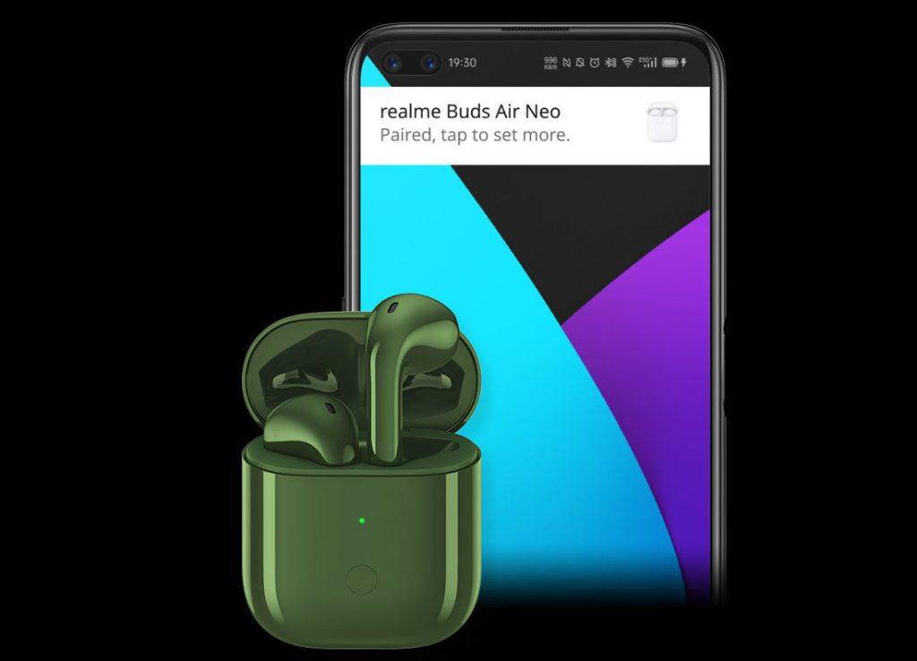 Realme Buds Air Neo مع برامج تشغيل مقاس 13 مم ، يتم إطلاق وضع الكمون المنخفض في الهند في 25 مايو 1