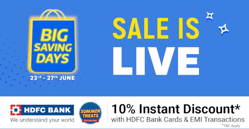 Flipkart Big Saving Days sale from Jun 23 to 27: Top Deals on ...