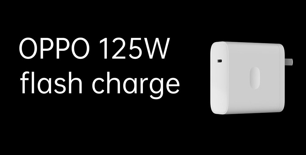 Oppo Announced 125W Flash Charge Technology with 65W Air VOOC & 50W Mini Super VOOC