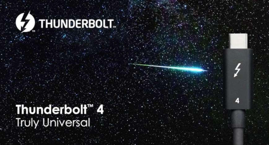 Intel introduces Thunderbolt 4 universal USB Type-C ...