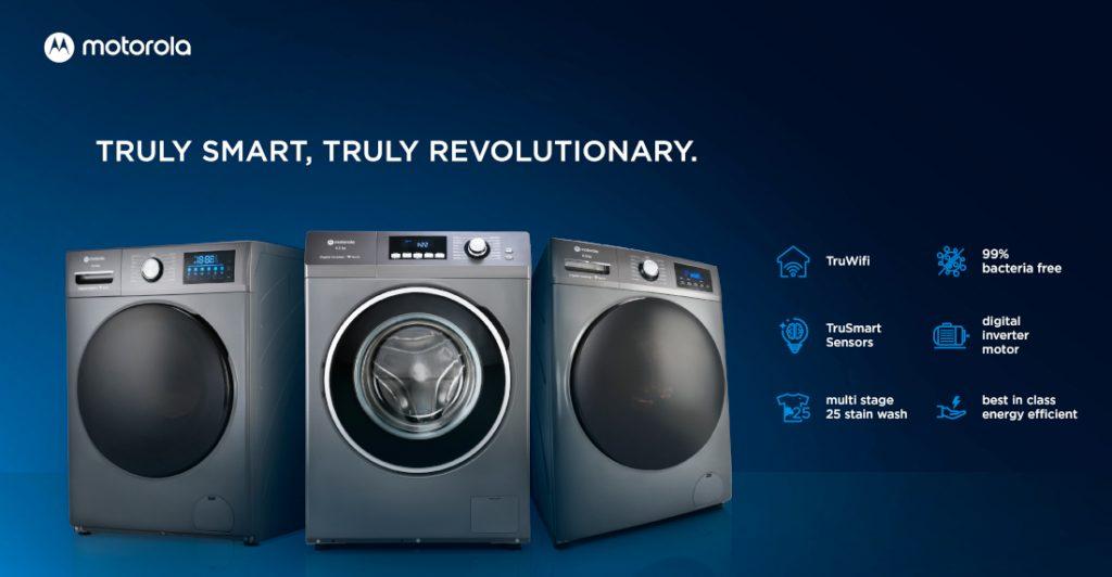 Motorola launches new range of Smart Refrigerators, ACs, Washing Machines in India
