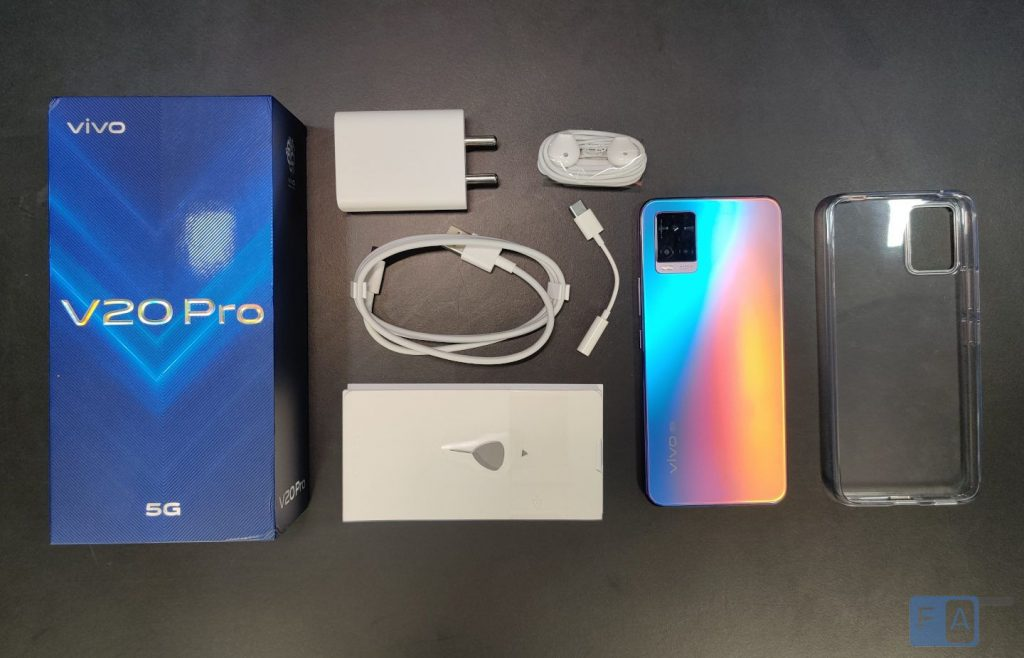 Vivo V20 Pro Unboxing And First Impressions