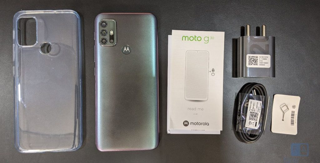 Moto G30 Unboxing and First Impressions
