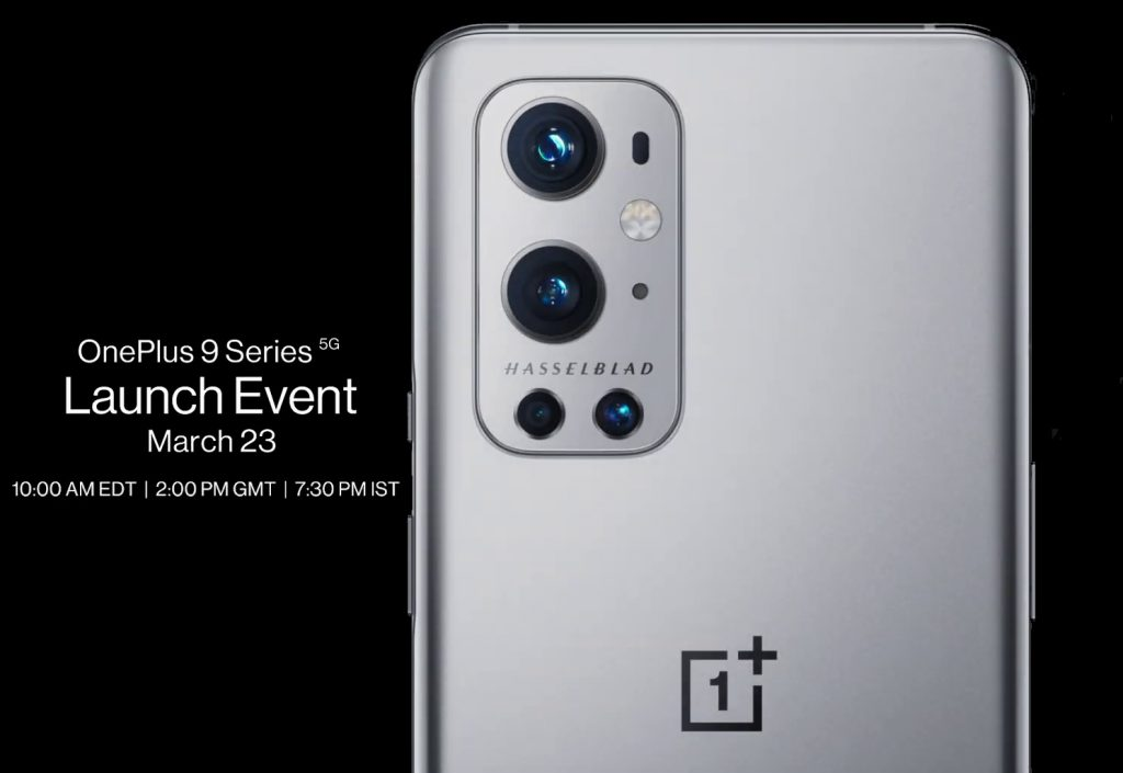 OnePlus 9 5G launch date
