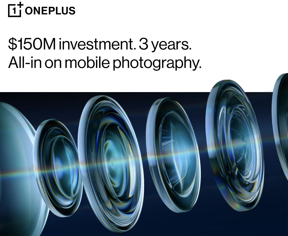 OnePlus USD 150 million investment mobile photography 2