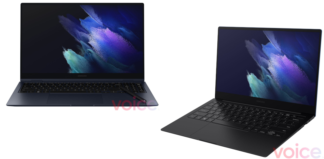 Samsung Galaxy Book Pro and Pro 360 laptops surface