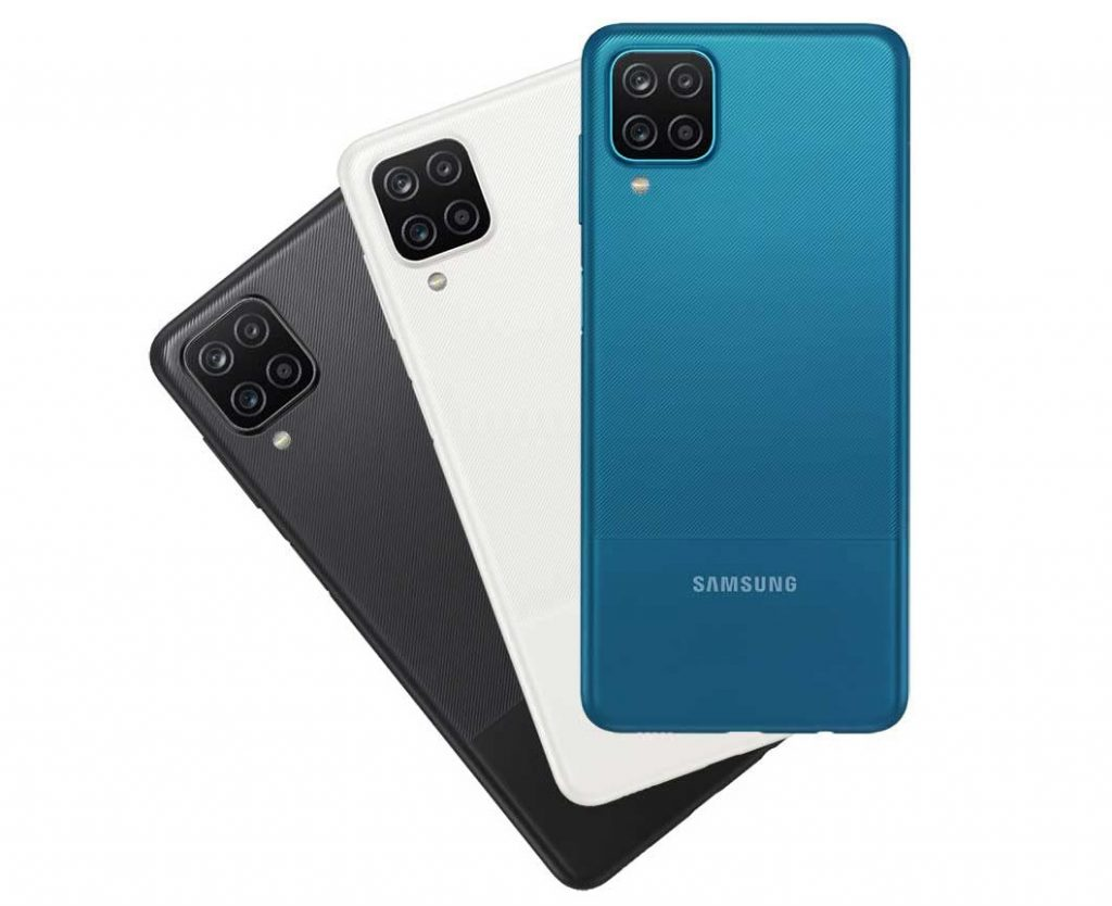Tiga varian warna Galaxy M12