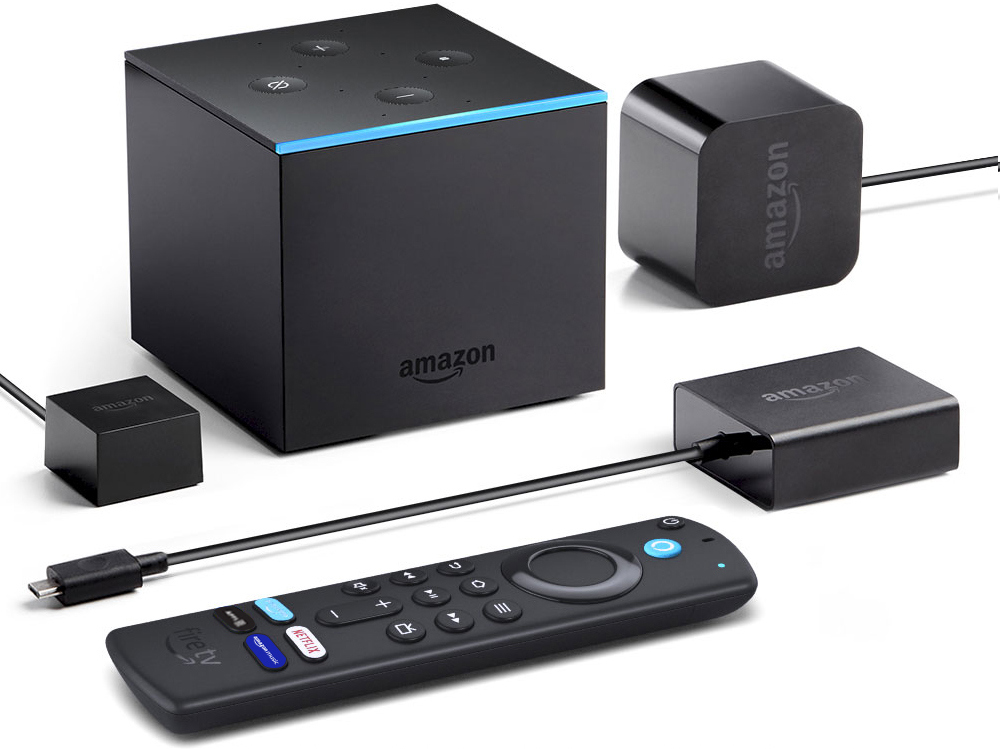 Amazon Fire TV Cube with support for Dolby Vision