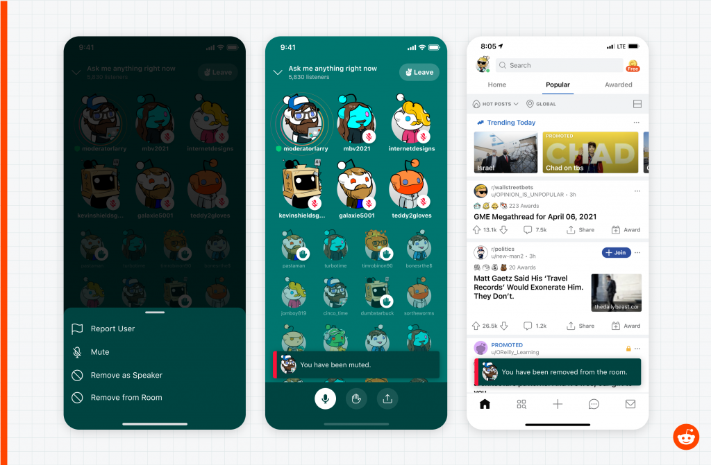 Reddit Talk Is the Latest Audio-Only Chat Feature to Rival Clubhouse