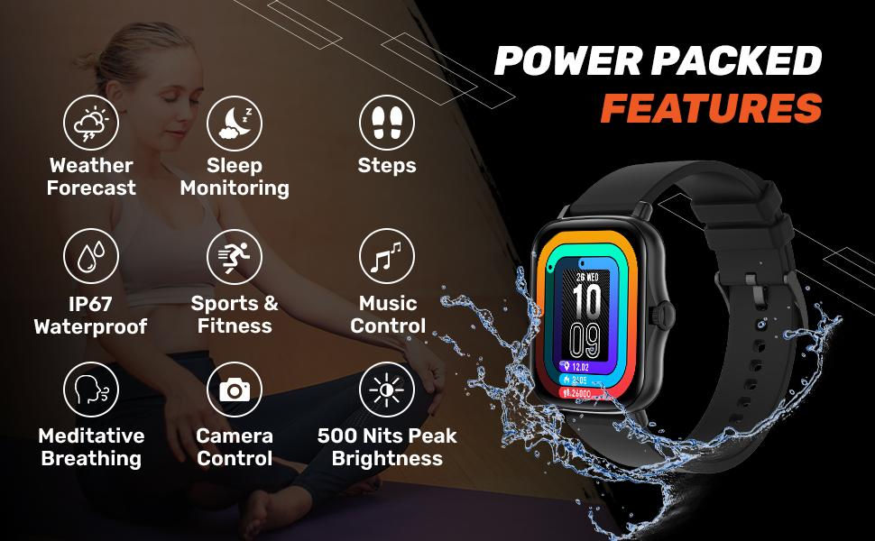Fire-Boltt Beast with 1.69-inch touch display, SpO2 and Blood pressure  monitoring, IP67 water resistance launched for Rs. 3999
